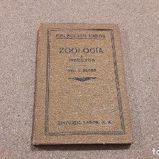 Libros antiguos: ZOOLOGÍA E INSECTOS....EDITORIAL LABOR...1927.... Lote 139160318