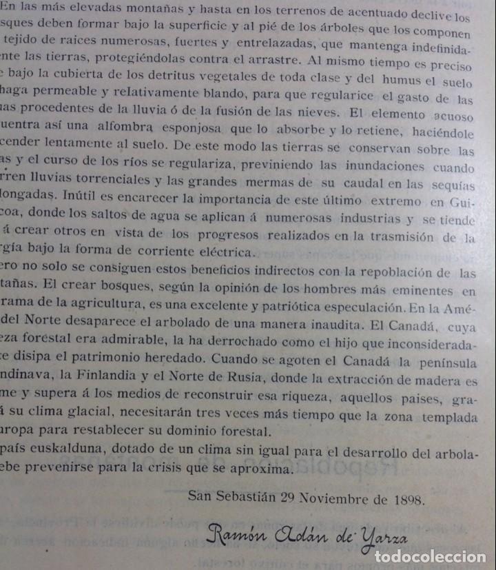 Libros antiguos: 1900 GUIPUZCOA * GEOLOGIA agrícola * BOSQUEJO PETROGRÁFICO * GRAN MAPA A COLOR - Foto 8 - 139586258