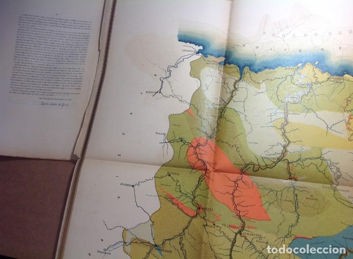 Libros antiguos: 1900 GUIPUZCOA * GEOLOGIA agrícola * BOSQUEJO PETROGRÁFICO * GRAN MAPA A COLOR - Foto 9 - 139586258