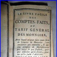 Libros antiguos: AÑO 1783: EL LIBRO DE CUENTAS HECHAS. LIBRO SOBRE CONTABILIDAD DE SIGLO XVIII DE TAN SÓLO 12,50 CM. . Lote 140483762