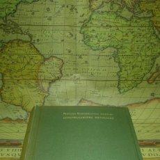 Libros antiguos: CONSTRUCCIONES METALICAS. FERNANDO RODRIGUEZ-AVIAL AZCUÑAGA. 1953.. Lote 238186345