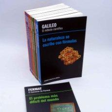 Libros antiguos: GRANDES IDEAS DE LA CIENCIA 1 A 10. COMPLETA (VVAA) RBA, 2012. OFRT. Lote 141217817
