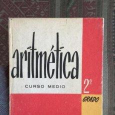 Libros antiguos: ARITMÉTICA. EDITORIAL BRUÑO. Lote 141790014