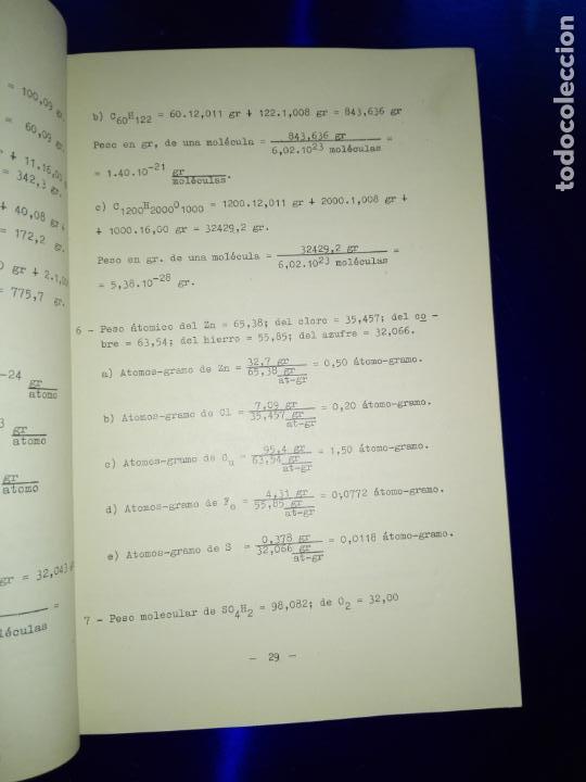 Libros antiguos: libro-clave detallada de los problemas de química-ver fotos - Foto 4 - 142475466