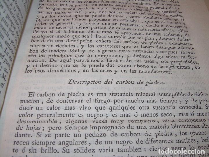 Libros antiguos: LIBRO TAPAS PIEL.DICCIONARIO DE AGRICULTURA,MEDICINA RURAL, VETERINARIA Y BOTANICA.AÑO 1799 - Foto 6 - 142796066