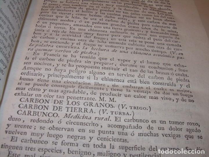 Libros antiguos: LIBRO TAPAS PIEL.DICCIONARIO DE AGRICULTURA,MEDICINA RURAL, VETERINARIA Y BOTANICA.AÑO 1799 - Foto 8 - 142796066