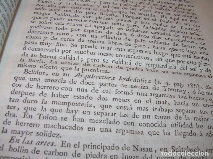 Libros antiguos: LIBRO TAPAS PIEL.DICCIONARIO DE AGRICULTURA,MEDICINA RURAL, VETERINARIA Y BOTANICA.AÑO 1799 - Foto 9 - 142796066