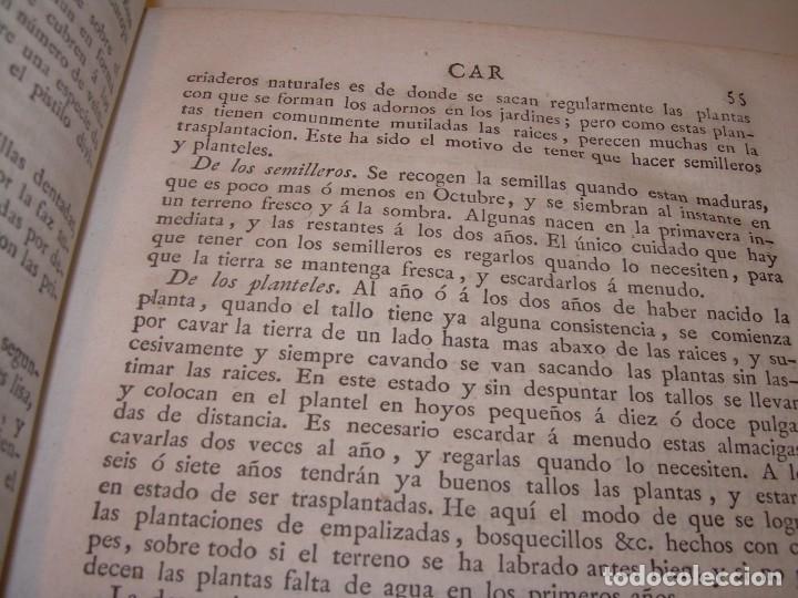 Libros antiguos: LIBRO TAPAS PIEL.DICCIONARIO DE AGRICULTURA,MEDICINA RURAL, VETERINARIA Y BOTANICA.AÑO 1799 - Foto 10 - 142796066