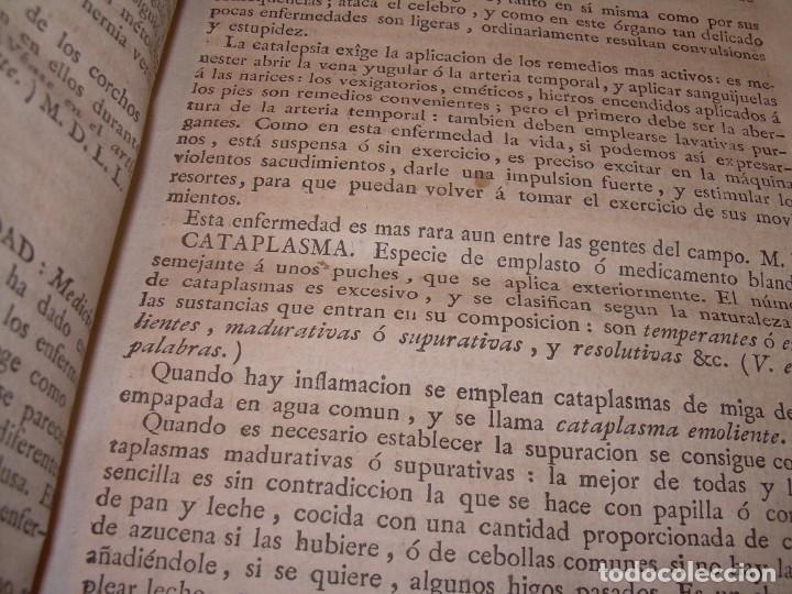 Libros antiguos: LIBRO TAPAS PIEL.DICCIONARIO DE AGRICULTURA,MEDICINA RURAL, VETERINARIA Y BOTANICA.AÑO 1799 - Foto 14 - 142796066