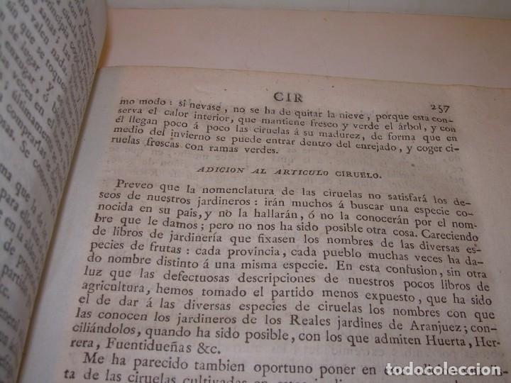 Libros antiguos: LIBRO TAPAS PIEL.DICCIONARIO DE AGRICULTURA,MEDICINA RURAL, VETERINARIA Y BOTANICA.AÑO 1799 - Foto 35 - 142796066