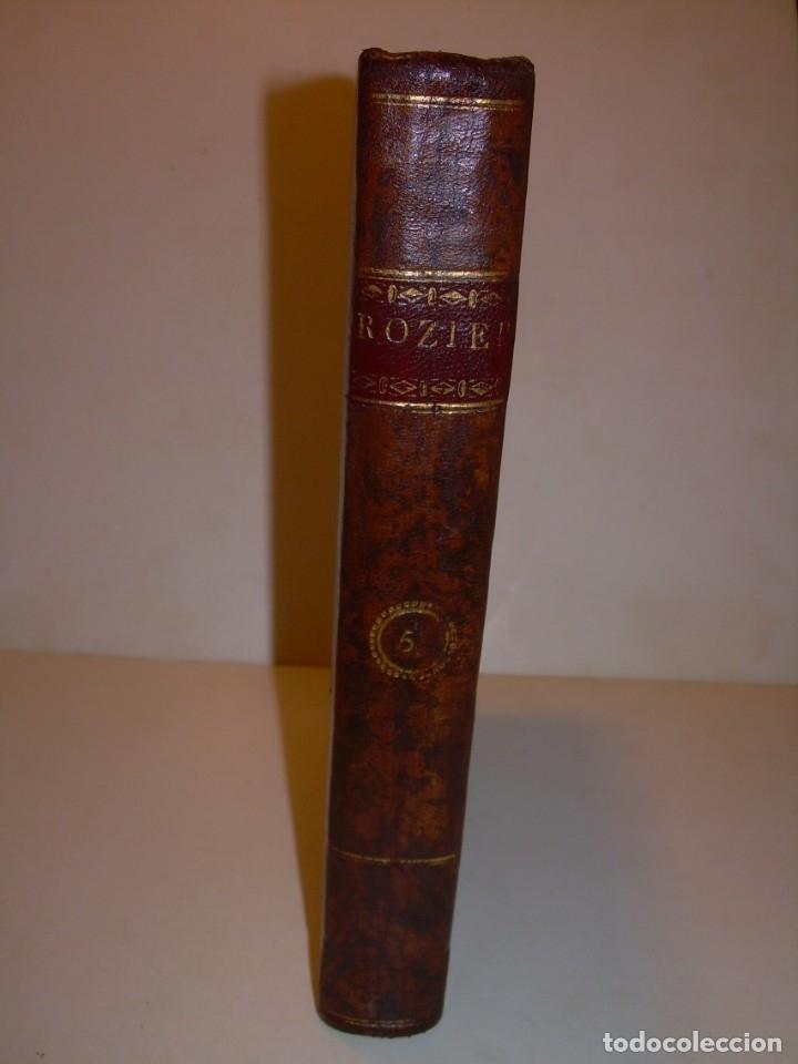 Libros antiguos: LIBRO TAPAS PIEL.DICCIONARIO DE AGRICULTURA,MEDICINA RURAL, VETERINARIA Y BOTANICA.AÑO 1799 - Foto 42 - 142796066