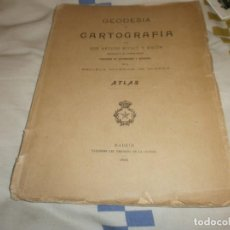 Libros antiguos: GEODESIA Y CARTOGRAFÍA - ATLAS LÁMINAS ARTURO MIFSUT Y MACÓN - ESCUELA SUPERIOR DE GUERRA 1905 . Lote 142829366