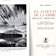 Libros antiguos: LIBRO,EL ALIENTO DE LA TIERRA,MARAVILLAS Y ENIGMAS DEL AIRE,AÑO 1966,1ª EDI,,COMO NUEVO,METEREOLOGIA. Lote 143039574