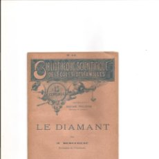 Libros antiguos: 3091. LE DIAMANT (DIAMANTES). Lote 143191530
