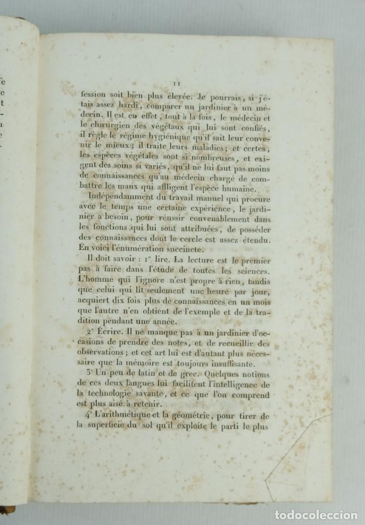 Libros antiguos: Annales de flore et de Pomone ou journal des jardins 1833-1841.Ed.Bousselon, Paris-9 tomos - Foto 6 - 143626202