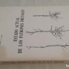 Libros antiguos: ESTADO ACTUAL DE LOS PATRONES FRUTALES - ITEA -AGRICULTURA GANADERIA. Lote 143772074