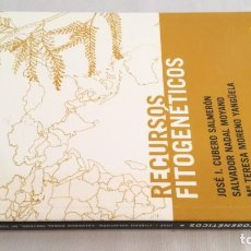Libros antiguos: RECURSOS FITOGENETICOS - VVAA - EDITORIAL AGRÍCOLA ESPAÑOLA - AGRICULTURA GANADERIA. Lote 143772174