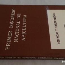 Libros antiguos: PRIMER CONGRESO NACIONAL DE APICULTURA - ABEJAS COLMENAS MIEL JALEA REAL - AGRICULTURA GANADERIA. Lote 143772202