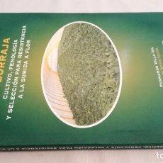 Libros antiguos: LA BORRAJA CULTIVO FENOLOGÍA SELECCIÓN PARA RESISTENCIA SUBIDA FLOR -AGRICULTURA GANADERÍA ARAGON. Lote 195354396