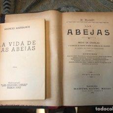 Libros antiguos: LAS ABEJAS APICULTURA. Lote 143809181