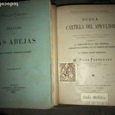 Libros antiguos: TRATADO DE LAS ABEJAS NUEVA CARTILLA DEL APICULTOR. Lote 143813344