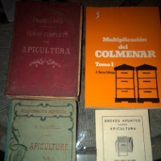 Libros antiguos: CURSO COMPLETO DE APICULTURA. Lote 143815625