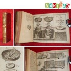 Libros antiguos: AÑO 1751 - AVICULTURA Y CRÍA DE AVES - HUEVOS - INCUBADORAS - 4 GRABADOS DESPLEGABLES - ECOLOGÍA. Lote 143850788