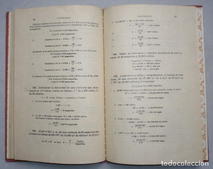 Libros antiguos: PROBLEMAS DE FISICA. ENUNCIADOS Y SOLUCIONES DETALLADAS. NIVEL: BACHILLERATO - Foto 8 - 144106502