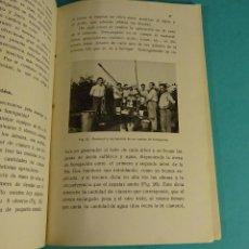 Libros antiguos: INSTRUCCIONES FUMIGACIÓN ACIDO CIANHÍDRICO. ESTACIÓN PATOLOGÍA VEGETAL DE LEVANTE. BURJASOT. Lote 144407414