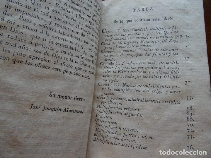 Libros antiguos: Curiosidades de la naturaleza y del arte, sobre la vegetación o agricultura y jardinería, 1806 - Foto 5 - 144474342