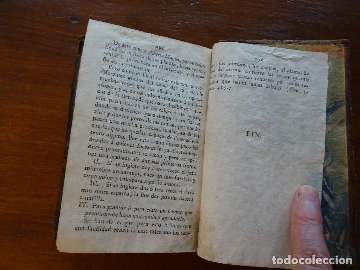Libros antiguos: Curiosidades de la naturaleza y del arte, sobre la vegetación o agricultura y jardinería, 1806 - Foto 9 - 144474342
