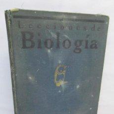 Libros antiguos: LECCIONES DE BIOLOGIA GENERAL. C. AREVALO. INSTITUTO DEL CARDENAL CISNEROS. TIP. EL ADELANTADO 1929. Lote 144623290