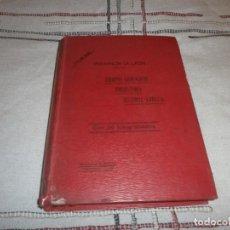 Libros antiguos: LOS ASTURES LANCIENSES HOY LEONESES 1910 ELÍAS GAGO RABANAL ARQUEBIOLOGÍA ESTUDIOS PROVINCIA DE LEÓN. Lote 144785610