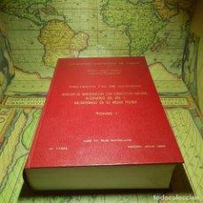 Libros antiguos: PROYECTO FIN DE CARRERA. REACTOR DE INVESTIGACIÓN CON CONVECCIÓN NATURAL ALTERNATIVO DEL JEN-1.. Lote 145575718