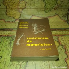 Libros antiguos: RESISTENCIA DE MATERIALES. LUIS ORTIZ BERROCAL. UNIVERSIDAD POLITÉCNICA DE MADRID 1980.. Lote 145597010