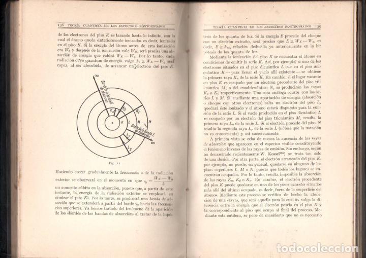 Libros antiguos: REICHE : TEORIA DE LOS QUANTA, SU ORIGEN Y DESARROLLO (CALPE, 1922) - Foto 3 - 145627462