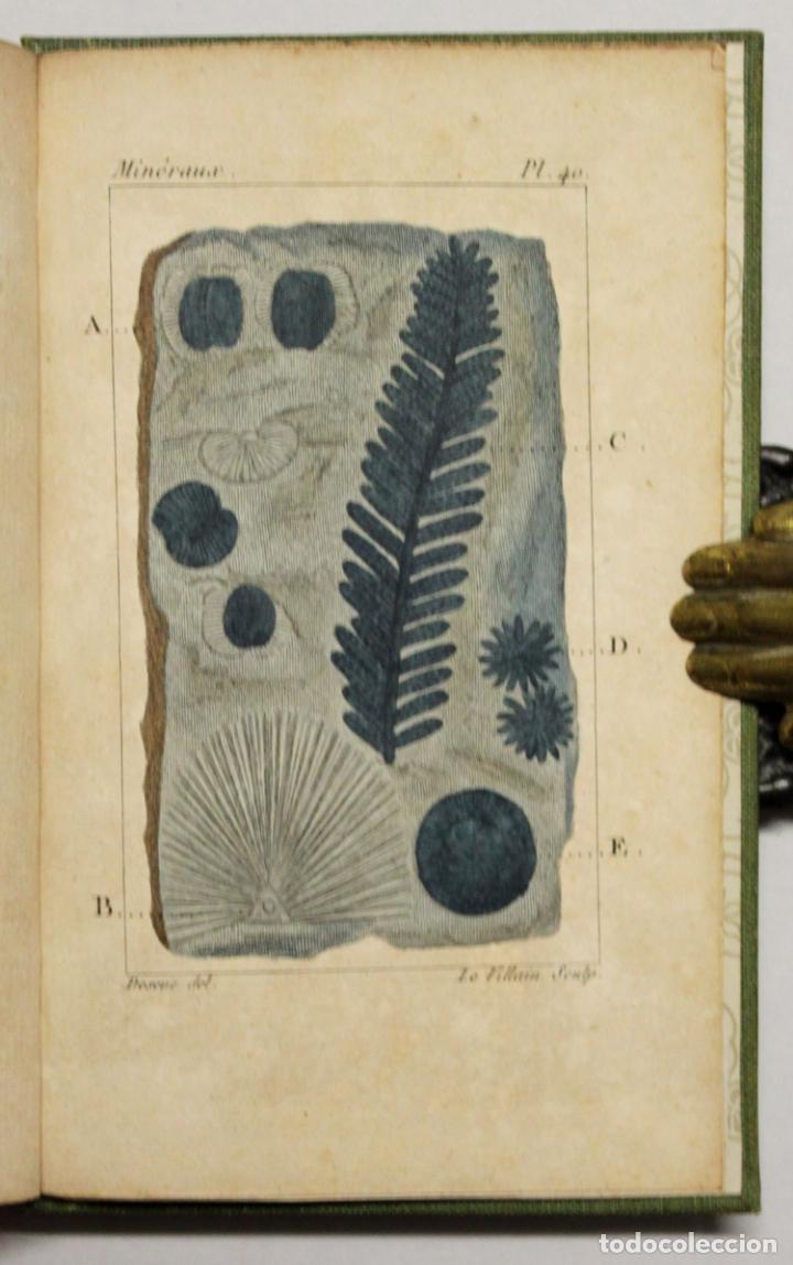Libros antiguos: ATLAS DE MINÉRALOGIE OU HISTOIRE NATURELLE DES MINÉRAUX... - Foto 2 - 217674467