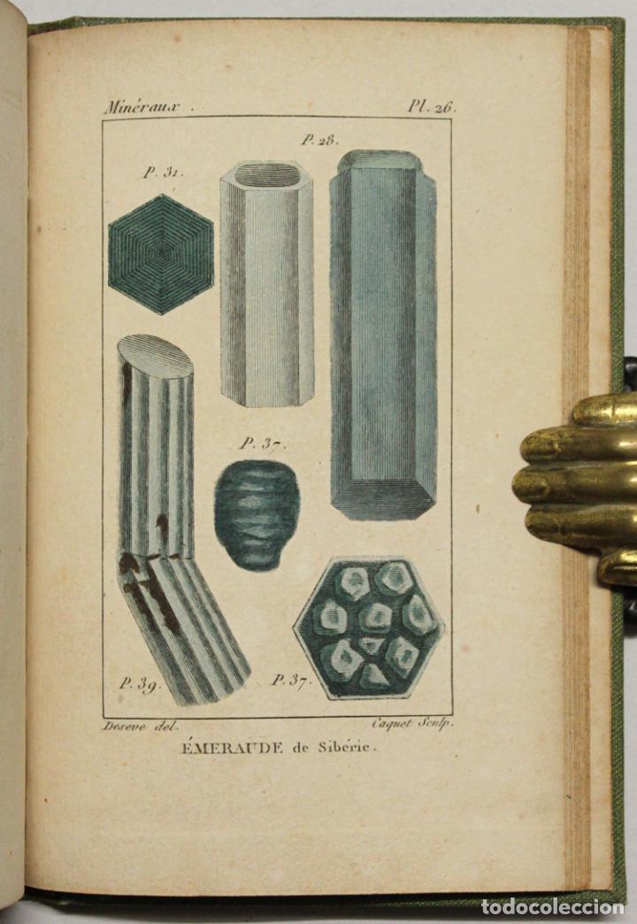 Libros antiguos: ATLAS DE MINÉRALOGIE OU HISTOIRE NATURELLE DES MINÉRAUX... - Foto 3 - 217674467