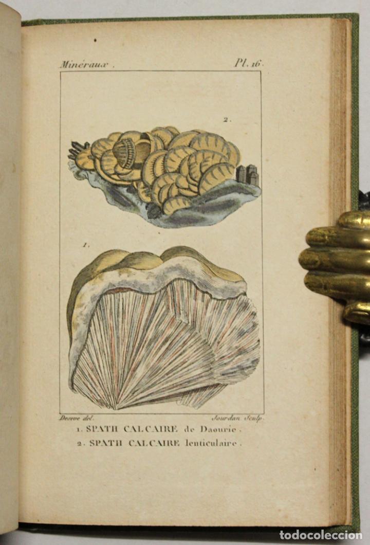 Libros antiguos: ATLAS DE MINÉRALOGIE OU HISTOIRE NATURELLE DES MINÉRAUX... - Foto 4 - 217674467