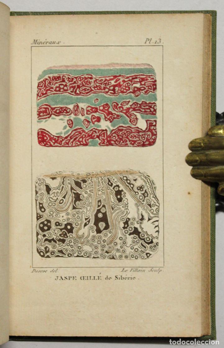 Libros antiguos: ATLAS DE MINÉRALOGIE OU HISTOIRE NATURELLE DES MINÉRAUX... - Foto 5 - 217674467