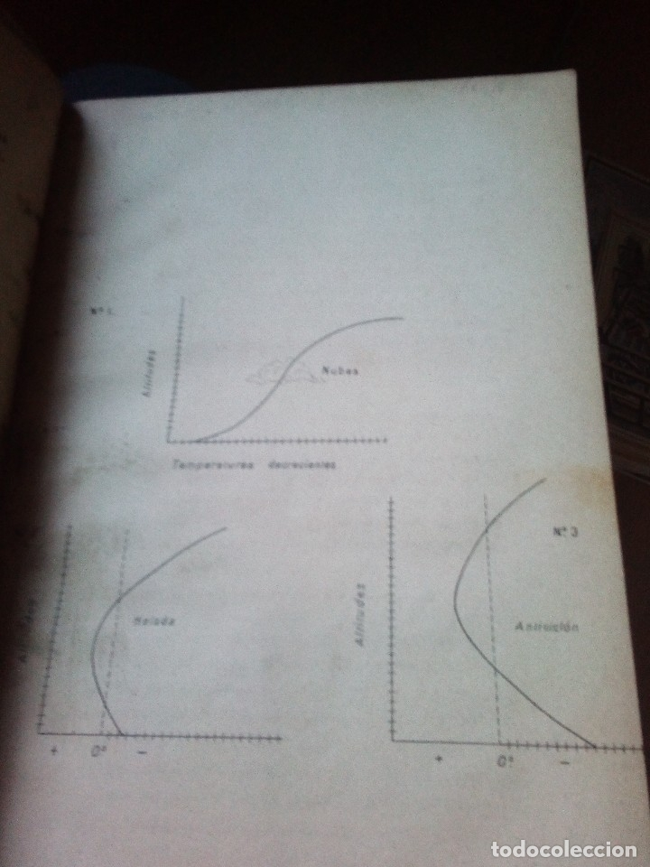 Libros antiguos: notas acidionales al curso de meteorologia y climatologia escuela de ingenieros de montes 1896, raro - Foto 3 - 145908822