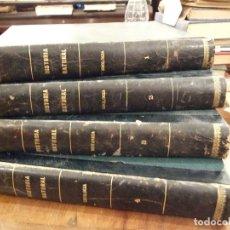 Libros antiguos: HISTORIA NATURAL 4 TOMOS GEOLOGIA , BOTANICA , ZOOLOGIA X2 - 1ª EDIC. 1925 GALLACH PERFECTO. Lote 146425058