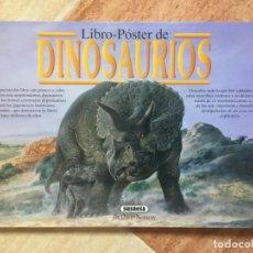 Libros antiguos: ATLAS LIBRO PÓSTER DE DINOSAURIOS DR DAVID NORMAN - SUSAETA 1993 - NUEVO A ESTRENAR SIN USO. Lote 192066890