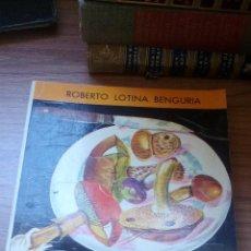 Libros antiguos: LAS SETAS COMESTIBLE EN EUROPA - ROBERTO LOTINA BENGURIA - 1972 ---------ZXY. Lote 146718418