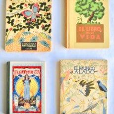 Libros antiguos: LOTE DE 4 LIBROS SOBRE NATURALEZA Y BIOLOGÍA. AVES. INSECTOS. CALPE, SEIX BARRAL Y HERALDO DE ARAGÓN. Lote 147346654