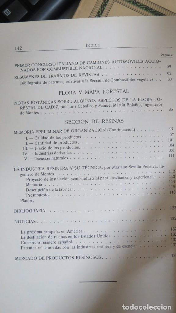 Libros antiguos: 1929.- INSTITUTO FORESTAL DE INVESTIGACIONES Y EXPERIENCIAS. AÑO II. Nº 3 - Foto 3 - 147597810