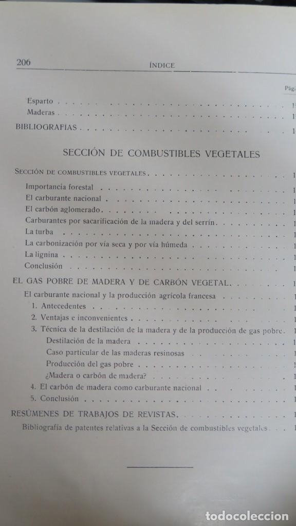 Libros antiguos: 1928.- SERVICIO FORESTAL DE INVESTIGACIONES Y EXPERIENCIAS. AÑO I. Nº1 - Foto 5 - 147598050