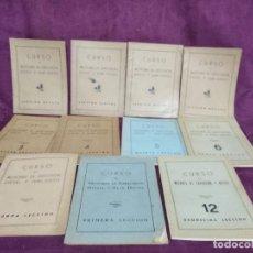 Libros antiguos: 11 LIBROS PARA CURSO DE MOTORES DE EXPLOSIÓN, DIESEL Y SEMIDIESEL, INSTITUTO AMERICANO, 1R TERCIO XX. Lote 148346898