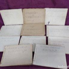 Libros antiguos: 11 LIBROS DE COLECCIONES DE ESQUEMAS PARA CURSO DE RADIO, FERNANDO MAYMO, BARCELONA, 1R TERCIO XX. Lote 148348118