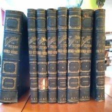 Libros antiguos: LA CREACIÓN HISTORIA-NATURAL. VILANOVA. Lote 148407832
